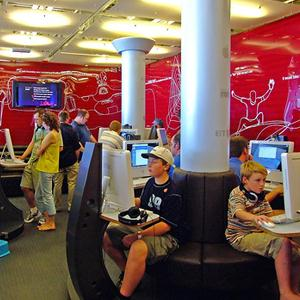 Интернет-кафе Грозного